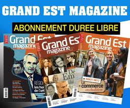 Abonnement Grand Est Magazine par prélévement