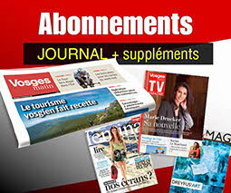 Abonnement papier Vosges Matin