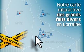 Carte Interactive des faits-divers en Lorraine