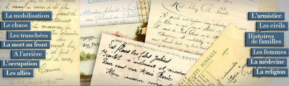 Liens Lettres de Poilus